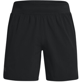 Under Armour Speedpocket 7'' Shorts Men, black-venom red